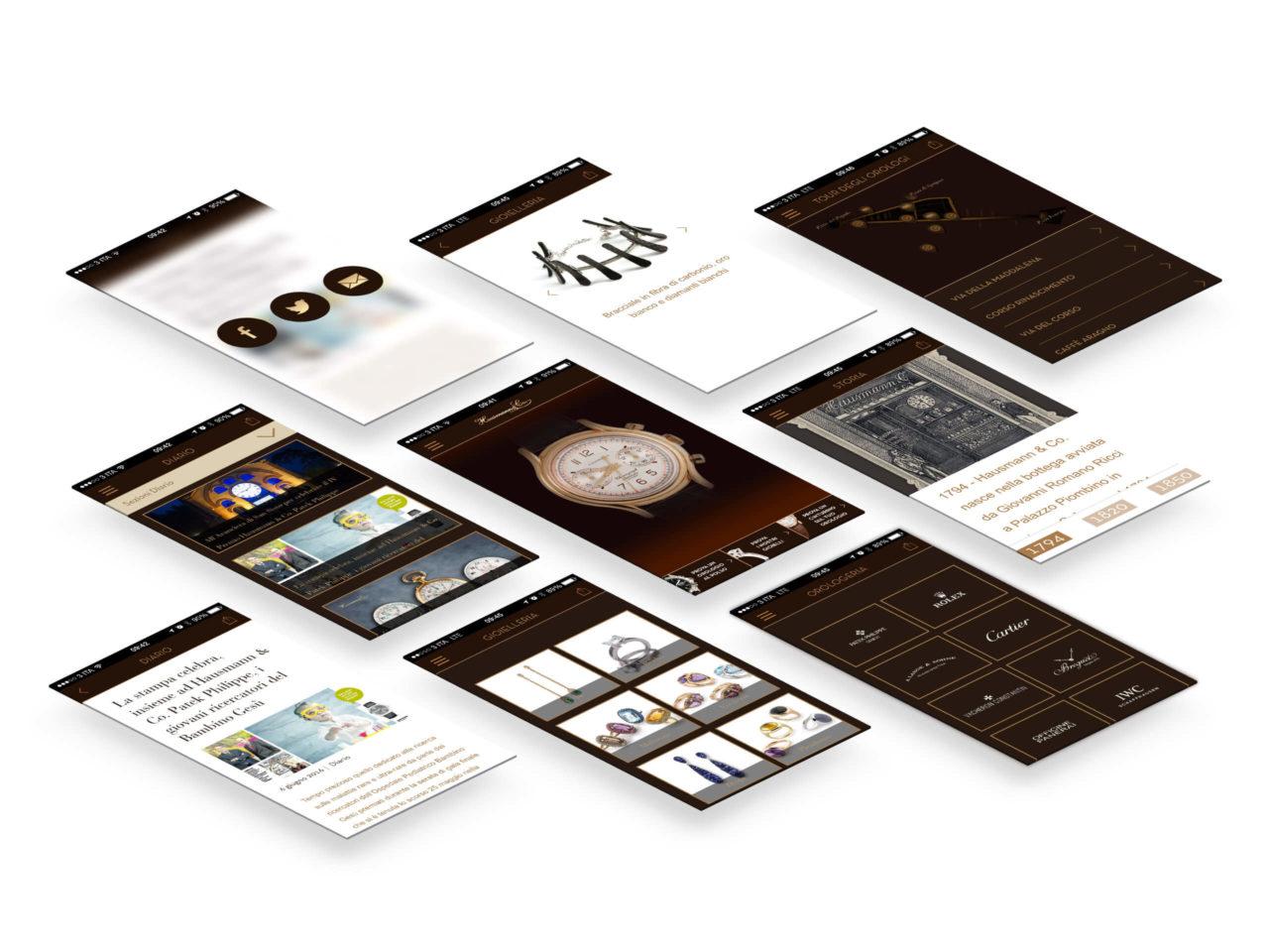 hausmann-app-screenshots